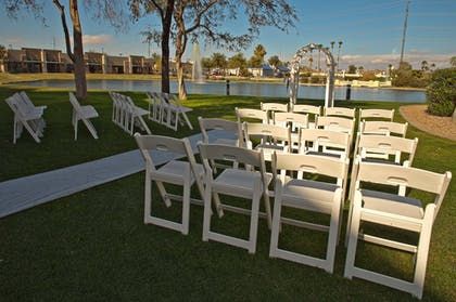 Outdoor Wedding Area | Windmill Suites Surprise, an Ascend Hotel Collection Member