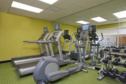 Fitness Facility | Fairfield Inn & Suites by Marriott Chicago Naperville