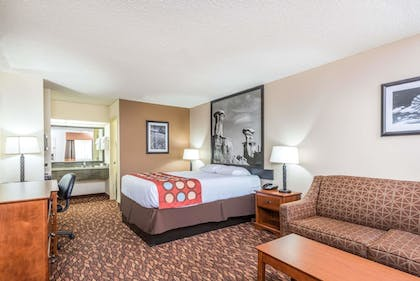 Guestroom | Super 8 by Wyndham Clovis