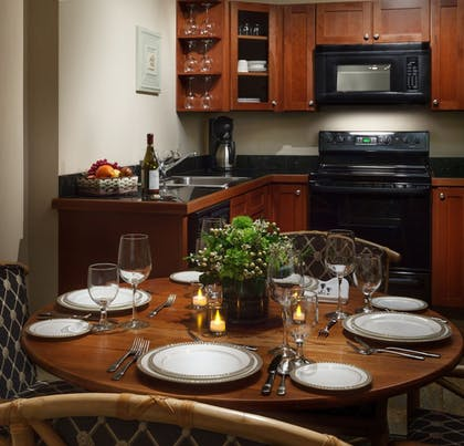 In-Room Kitchen | Genesee Grande Hotel and Suites
