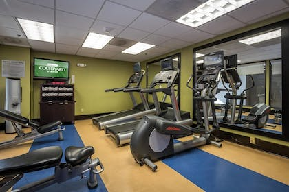 Fitness Facility | Courtyard By Marriott Tupelo