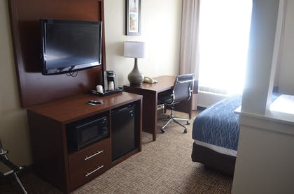 In-Room Amenity | Comfort Inn & Suites Junction City - near Fort Riley