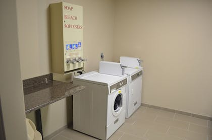 Laundry Room | Comfort Inn & Suites Junction City - near Fort Riley