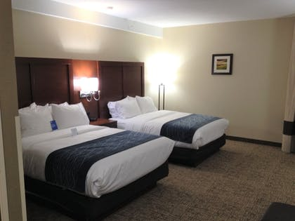 Guestroom | Comfort Inn & Suites Junction City - near Fort Riley