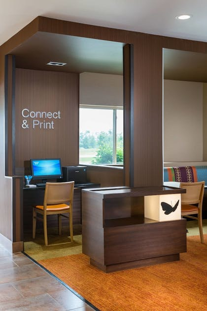 Business Center | Fairfield Inn and Suites by Marriott Valparaiso