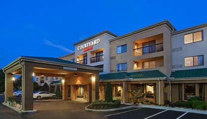 Hotel Front | Courtyard by Marriott Asheville