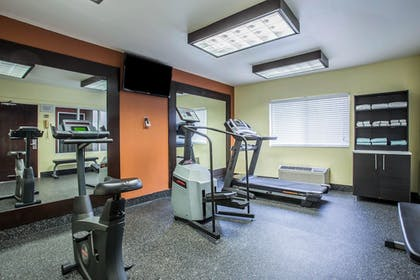 Fitness Facility | Comfort Inn & Suites Kannapolis - Concord