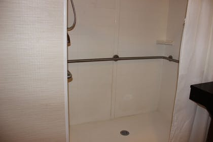 Bathroom Shower | Baymont by Wyndham Chambersburg