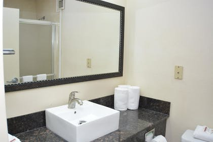Bathroom | Red Roof Inn PLUS+ & Suites Chattanooga - Downtown