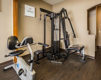 Fitness Facility | Comfort Suites Stafford Near Sugarland