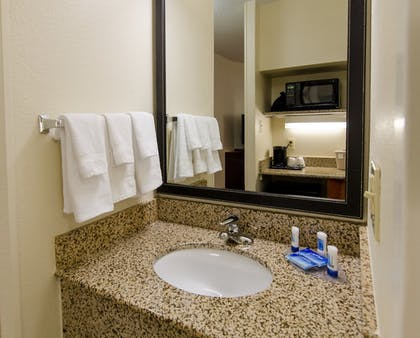 Bathroom | Fairfield Inn By Marriott Potomac Mills