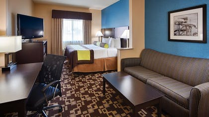 Guestroom | Best Western Plus Arlington North Hotel & Suites