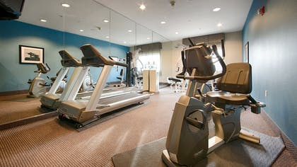Fitness Facility | Best Western Plus Arlington North Hotel & Suites