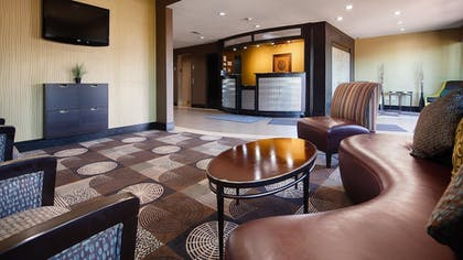 Lobby | Best Western Plus Arlington North Hotel & Suites