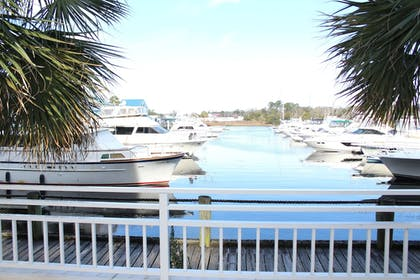 View from Hotel   Harbourgate Marina Club by Oceana Resorts