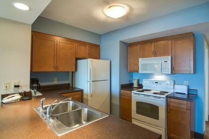 In-Room Kitchen   Harbourgate Marina Club by Oceana Resorts