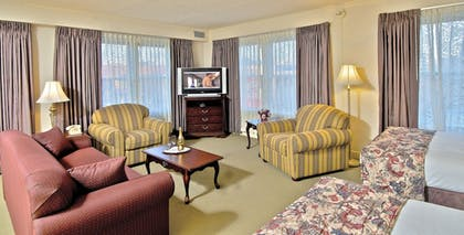 Living Area | Historic Anchorage Hotel