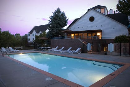 Outdoor Pool | The Commons Hotel & Suites - Denver Tech Center