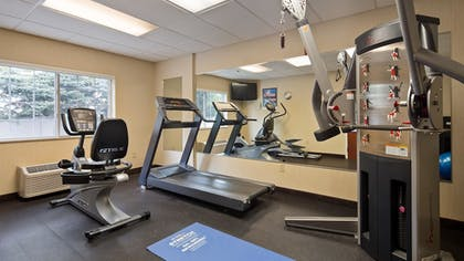Fitness Facility | Best Western Concord Inn & Suites