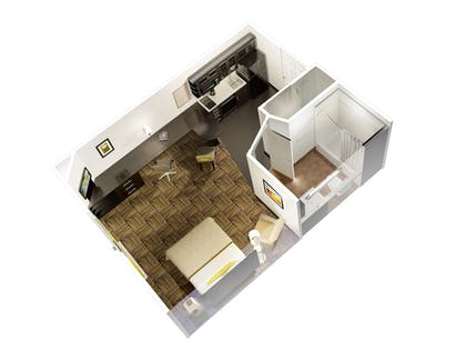 Floor plan | Candlewood Suites Silicon Valley