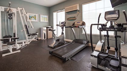 Fitness Facility | Best Western Plus Capitola By-the-sea Inn & Suites