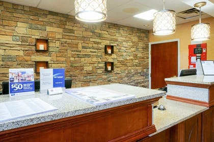 Reception | Best Western Plus Georgetown Corporate Center Hotel
