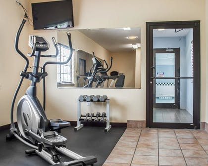 Fitness Facility | Comfort Inn And Suites Hamburg