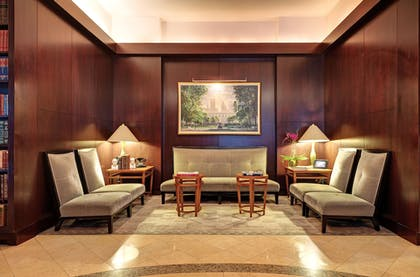 Lobby Sitting Area | The Library Hotel by Library Hotel Collection
