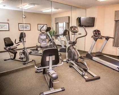Fitness Facility   Sleep Inn & Suites at Concord Mills