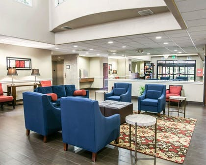 Lobby | Comfort Suites Willowbrook