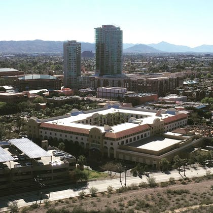 Aerial View | Tempe Mission Palms Hotel