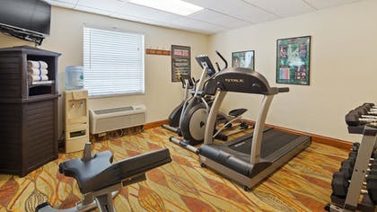 Fitness Facility | Best Western Tampa