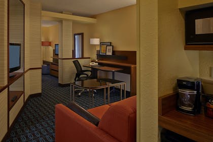 Living Area | Fairfield Inn And Suites By Marriott Boca Raton