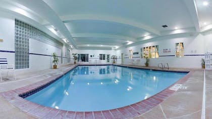 Indoor Pool | Holiday Inn Express Hotel & Suites Idaho Falls