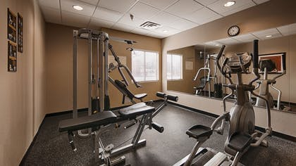 Fitness Facility | Best Western Bayou Inn & Suites