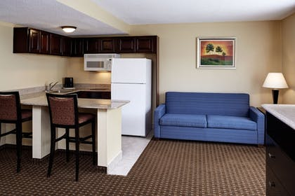 Living Area | Holiday Inn Express & Suites Detroit Downtown