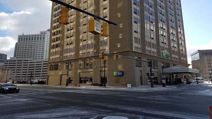 Hotel Front | Holiday Inn Express & Suites Detroit Downtown