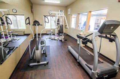 Gym | Comfort Inn and Suites Pittsburg
