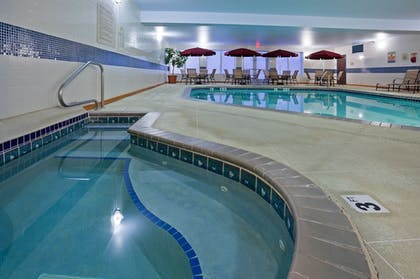 Pool | Holiday Inn Express & Suites Vadnais Heights