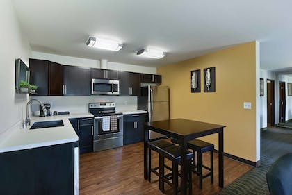 In-Room Kitchen | Oxford Suites Yakima