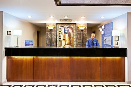 Lobby | Holiday Inn Express Hotel & Suites Greenwood