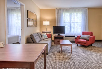 Living Area | TownePlace Suites by Marriott Charlotte Univ. Research Park