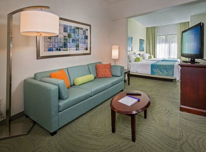 Living Area   SpringHill Suites by Marriott Charlotte Univ. Research Park