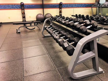 Fitness Facility | Hampton Inn & Suites Fairfield