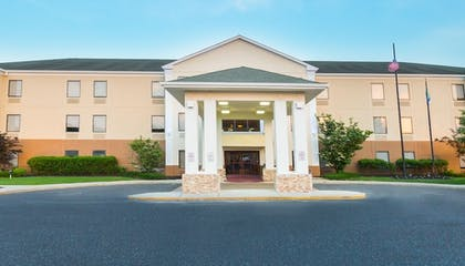 Hotel Front | Holiday Inn Express Hotel & Suites Mt. Holly