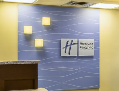 Reception | Holiday Inn Express Hotel & Suites Mt. Holly