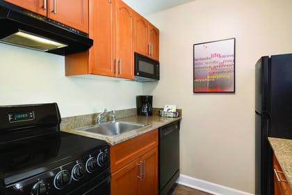 In-Room Kitchen | TownePlace Suites By Marriott Denver Downtown