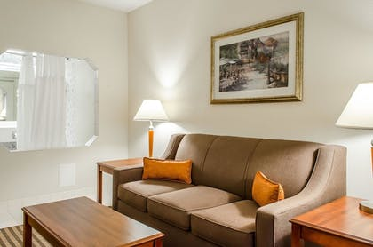 Guestroom | Comfort Suites near Penn State