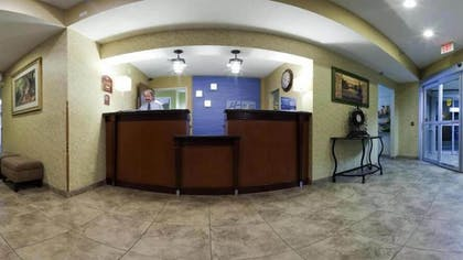 Reception | Holiday Inn Express & Suites Fort Pierre