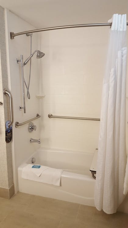 Bathroom Shower | Holiday Inn Express Louisville Northeast